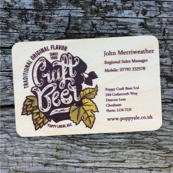 Wood business cards love wood prints reheart Gallery
