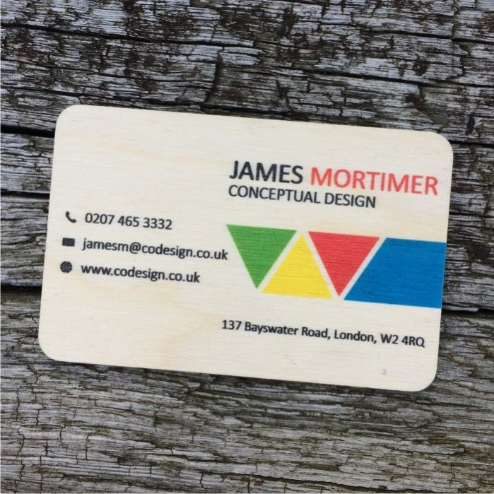 Wood business cards love wood prints our stylish birch plywood wood business cards will certainly help you to create the right first impression reheart Gallery